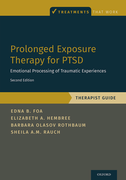 Prolonged Exposure Therapy for PTSDEmotional Processing of Traumatic Experiences - Therapist Guide