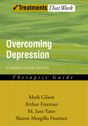 Overcoming Depression: A Cognitive Therapy ApproachTherapist Guide