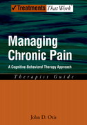 Managing Chronic PainA Cognitive-Behavioral Therapy Approach, Therapist Guide$