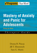 Mastery of Anxiety and Panic for Adolescents: Therapist GuideRiding the Wave$
