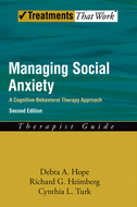 Managing Social Anxiety,Therapist GuideA Cognitive-Behavioral Therapy Approach
