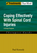 Coping Effectively With Spinal Cord Injuries A Group Program Therapist Guide$