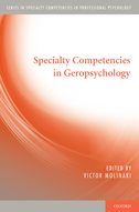 Specialty Competencies in Geropsychology