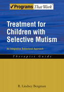Treatment for Children with Selective MutismAn Integrative Behavioral Approach