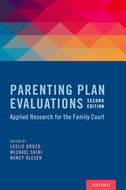 Parenting Plan EvaluationsApplied Research for the Family Court
